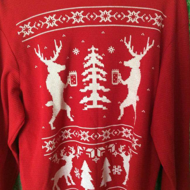 Cure Thermal Red Deer Shirt Sweater Image 1