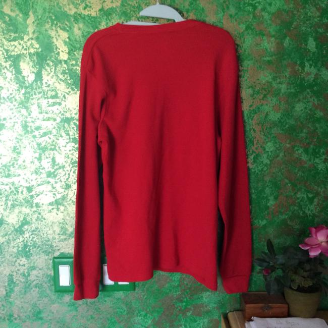 Cure Thermal Red Deer Shirt Sweater Image 4