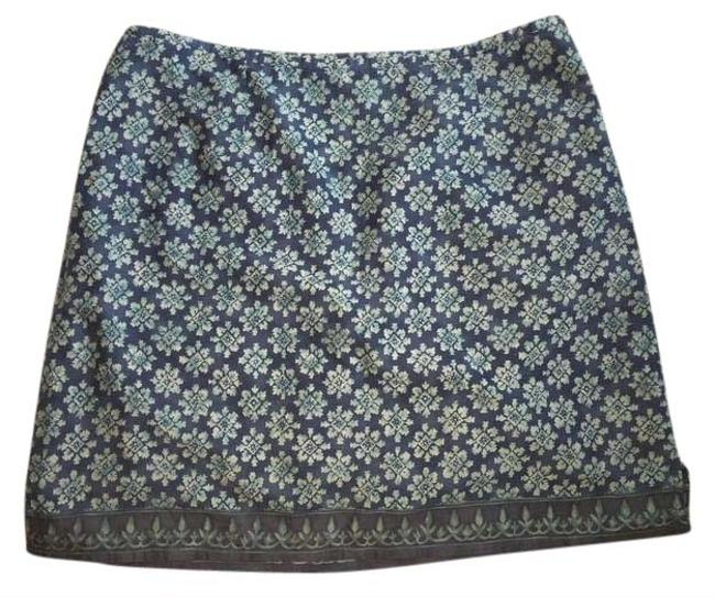 Preload https://img-static.tradesy.com/item/22096706/american-eagle-outfitters-blue-cottonblue-print-zip-cute-skirt-size-8-m-29-30-0-1-650-650.jpg