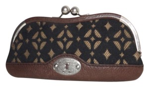 Fossil BROWN & BLACK Clutch