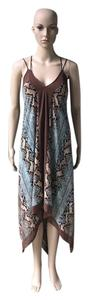 Animal Print Maxi Dress by Marciano Guess Python Womens
