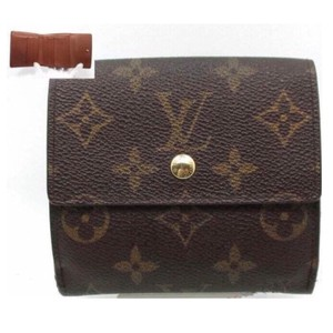 Louis Vuitton France Monogram Canvas Portefeiulle Elise Wallet with Coin Pocket