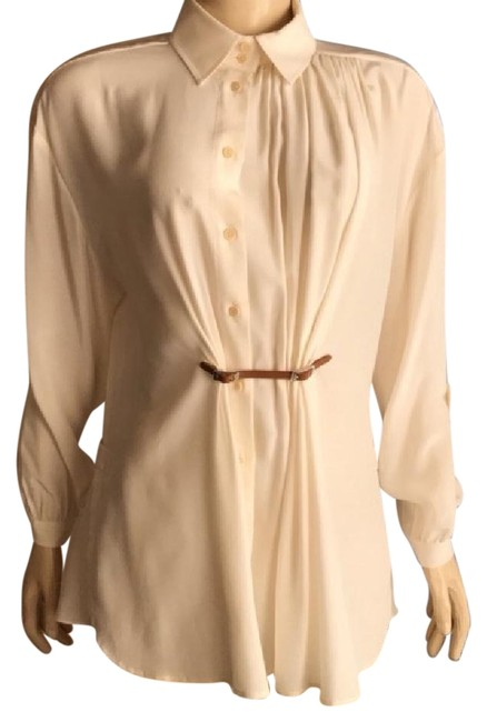 Preload https://img-static.tradesy.com/item/22096899/barbara-bui-champagne-beige-soie-silk-blouse-size-8-m-0-1-650-650.jpg