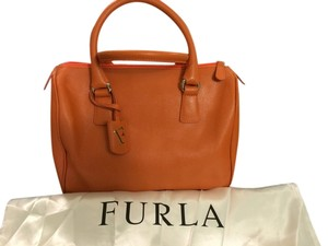 Furla Satchel in Orange/Carrot