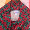 LuLaRoe Skirt Red/Green/Purple Image 2
