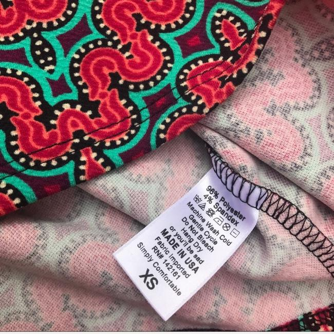 LuLaRoe Skirt Red/Green/Purple Image 3