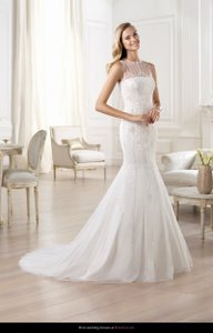 Pronovias Olmos Wedding Dress