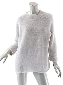 Max Mara Weekend By Pale Cotton Blend Mohair Sweater