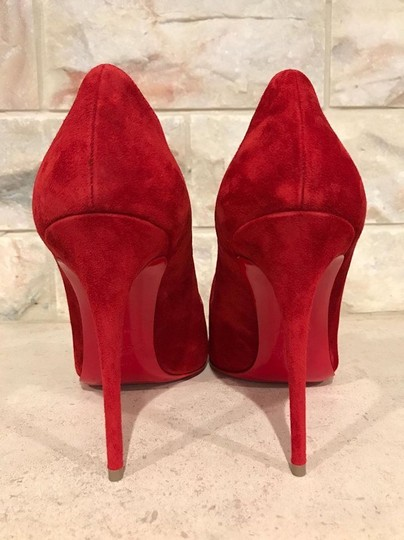 Christian Louboutin Olavague Stiletto Classic Pigalle red Pumps Image 10