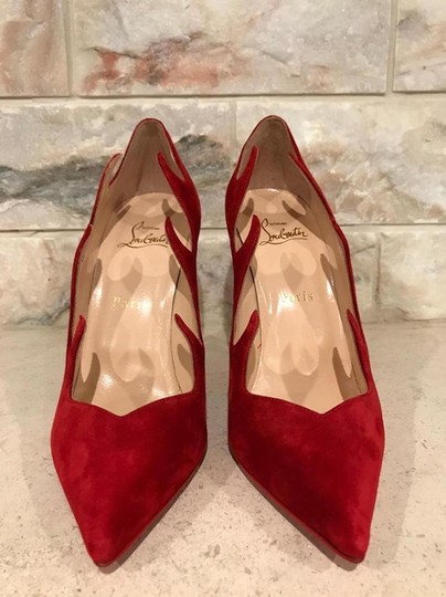 Christian Louboutin Olavague Stiletto Classic Pigalle red Pumps Image 6