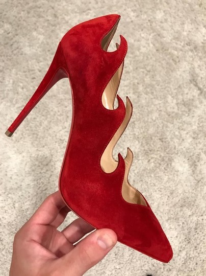 Christian Louboutin Olavague Stiletto Classic Pigalle red Pumps Image 7