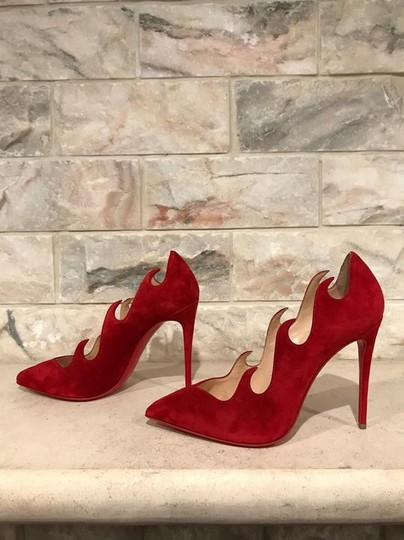 Christian Louboutin Olavague Stiletto Classic Pigalle red Pumps Image 9