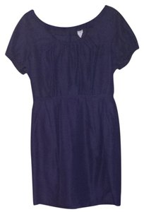 J.Crew short dress Purple on Tradesy