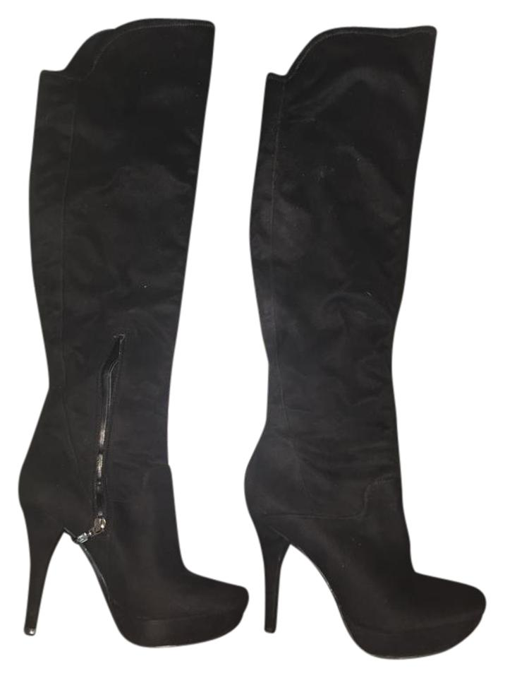 76acce591ca Guess Thigh High Platform Stiletto Street Smart Black Boots Image 0 ...