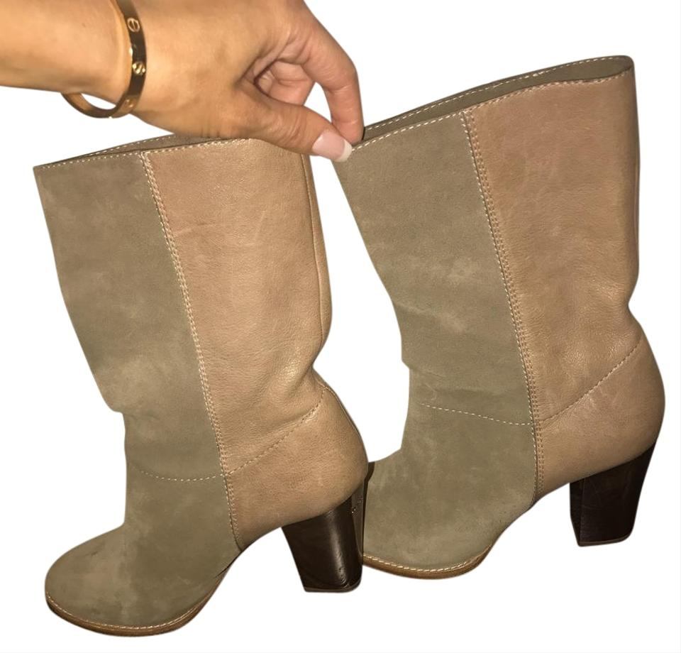 Jimmy Choo Beige Taupe Music Music Taupe Boots/Booties 3e7306