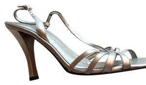 AK Anne Klein silver Formal