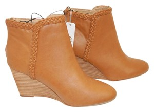 Charming Charlie Ankle Rust Brown Boots