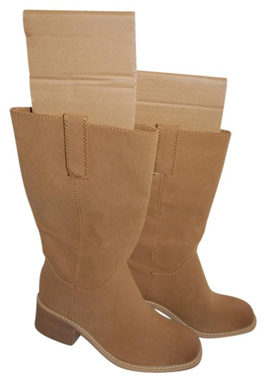 Dolce Cowboy Tan Boots Image 0