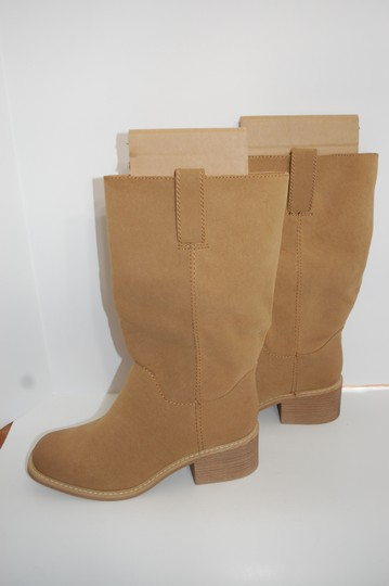 Dolce Cowboy Tan Boots Image 1