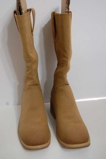 Dolce Cowboy Tan Boots Image 2