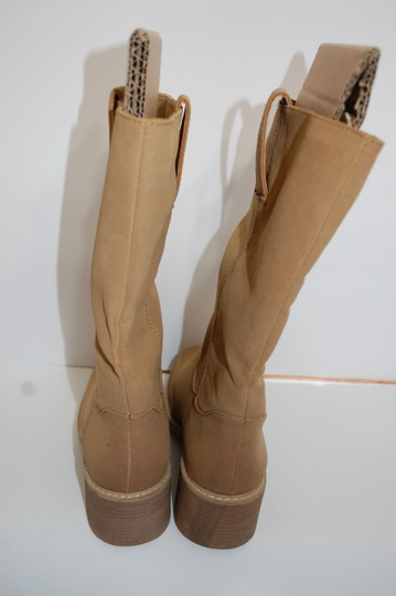 Dolce Cowboy Tan Boots Image 3