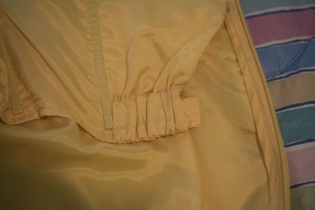 Shoshanna short dress Yellow with embroidered white detail Silk Strapless Mid-length Flirty on Tradesy Image 7