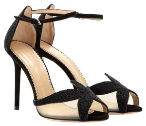 Charlotte Olympia Black Sandals
