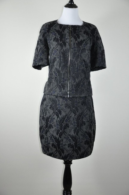 Marni Marni Ladies Made in Italy Black/grey/blue suit size 42