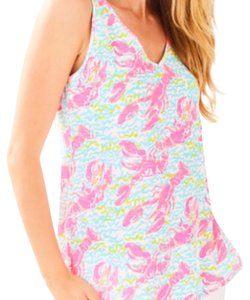 Lilly Pulitzer T Shirt Lobstah Roll