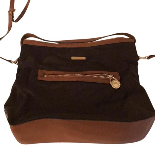 Preload https://img-static.tradesy.com/item/22099370/michael-kors-large-bodysatchel-brown-gold-zippers-nylon-cross-body-bag-0-1-540-540.jpg