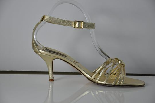 Michael Kors Gold Sandals