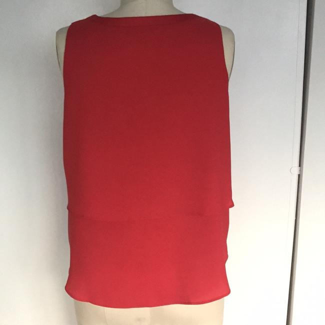 Ann Taylor Top Red Image 2
