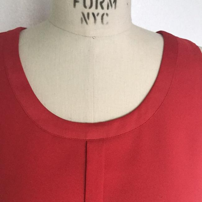 Ann Taylor Top Red Image 4