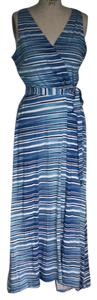 Blue Maxi Dress by Ann Taylor