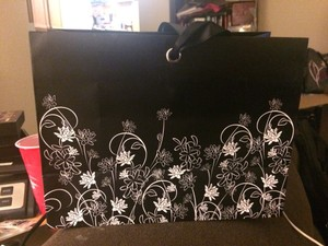 12 Black And White Gift Bags