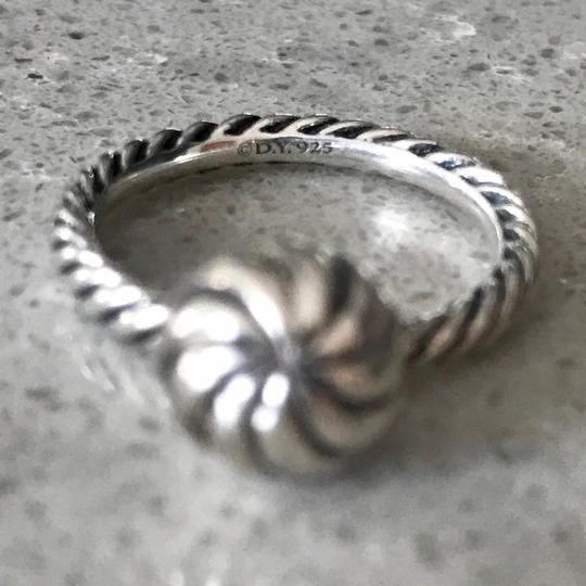 David Yurman Elements Cable Ball Ring
