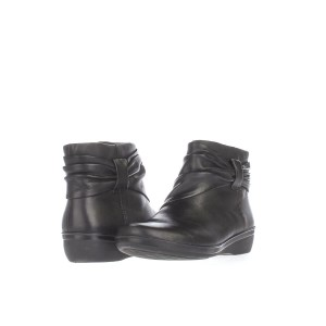 high quality new high quality free delivery Clarks Black Everlay Mandy Wrap / 37.5 Eu Used Boots/Booties Size US 7  Regular (M, B) 60% off retail