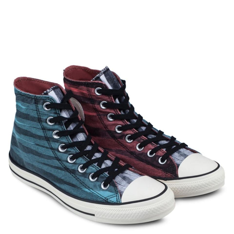 5c5fe91228 Converse Blue / Red Missoni Chuck Taylor Hi Tops Sneakers Size US 5 ...
