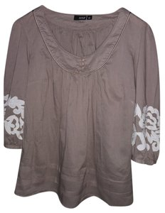 A.N.A. a new approach Top taupe