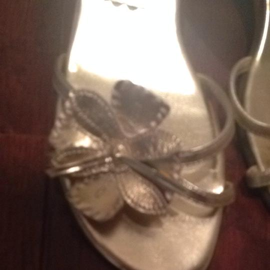 Kenneth Cole Reaction Gold Sandals