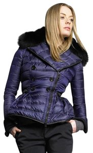 Burberry Prorsum Puffer Xs 36 36 blue Jacket