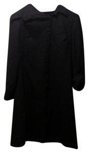 Sarah Pacini Coat Wool black Jacket