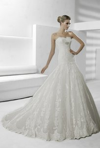La Sposa Sigilo-beadbelt Wedding Dress