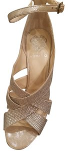 Vince Camuto Gold/silver Platforms