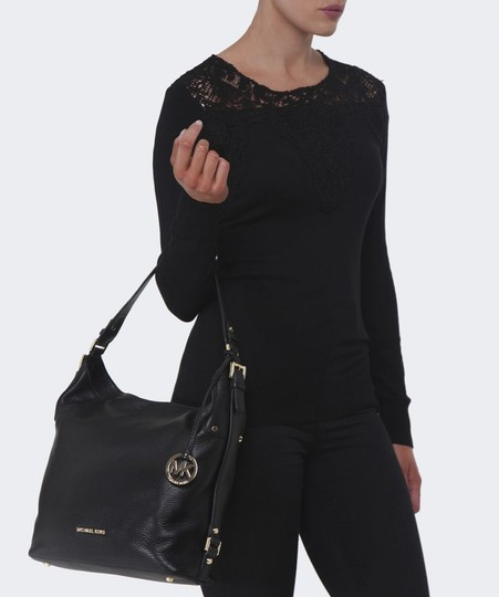 366ab7b32e75 MICHAEL Michael Kors Bedford Belted Large Leather Style  30t7gbfl3l Hobo Bag  Image 3