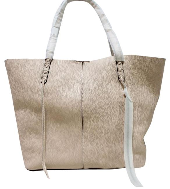 Item - Medium Unlined with Whipstitch Soft Blush Leather Tote