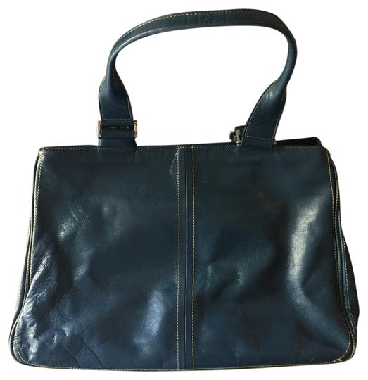 Kenneth Cole Structured Tote in Midnight Blue