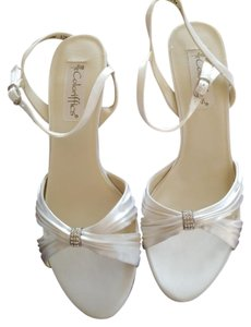 Coloriffics White Satin Formal