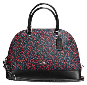 Coach New With Tags Floral Satchel