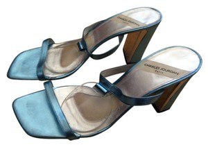 Charles Jourdan Light Blue Sandals